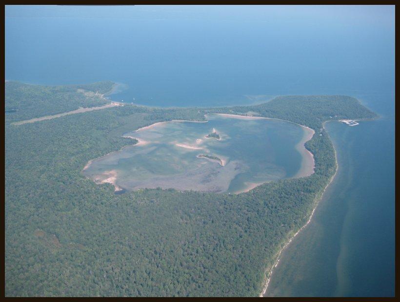 Island Lake Wi Map